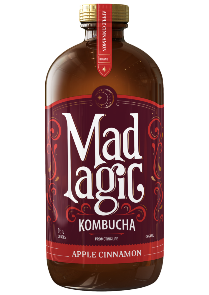 Mad Magic Apple Cinnamon Kombucha