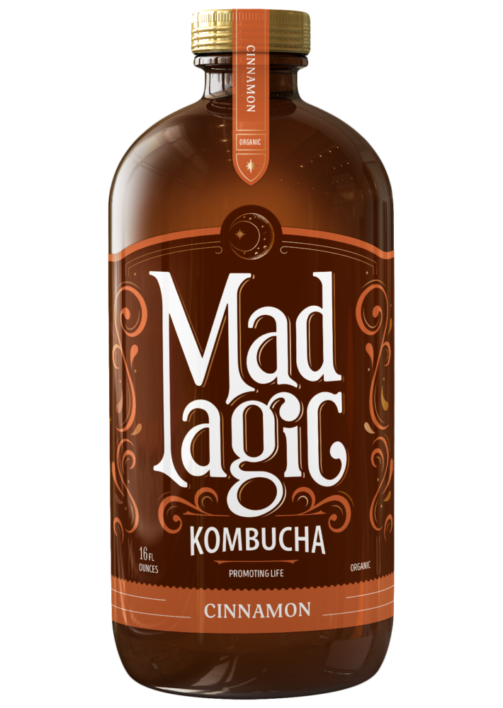 Mad Magic Cinnamon Kombucha