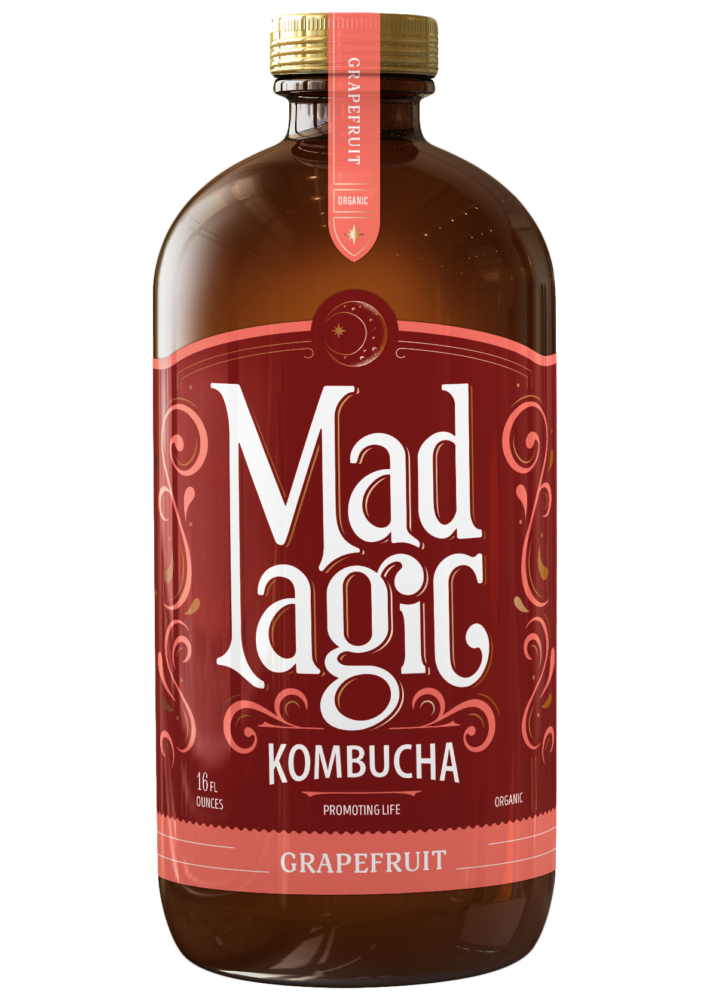 Mad Magic Grapefruit Kombucha