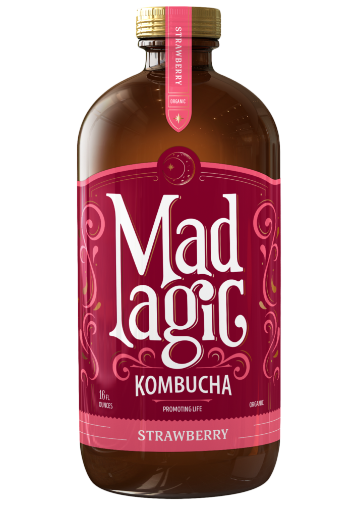 Mad Magic Strawberry Kombucha