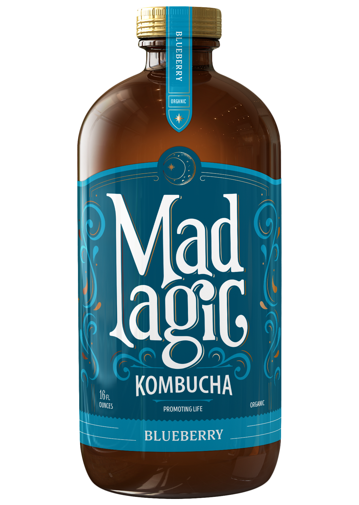 Mad Magic Blueberry Kombucha