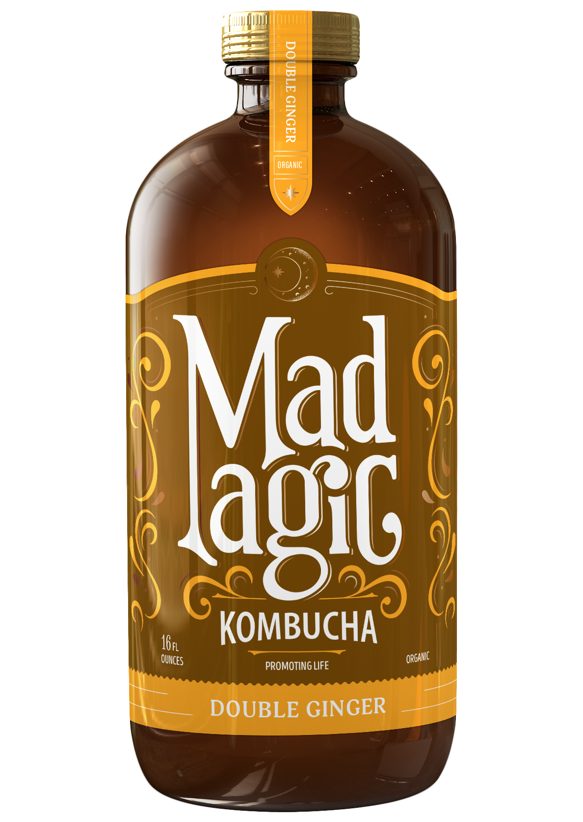 Mad Magic Double Ginger Kombucha