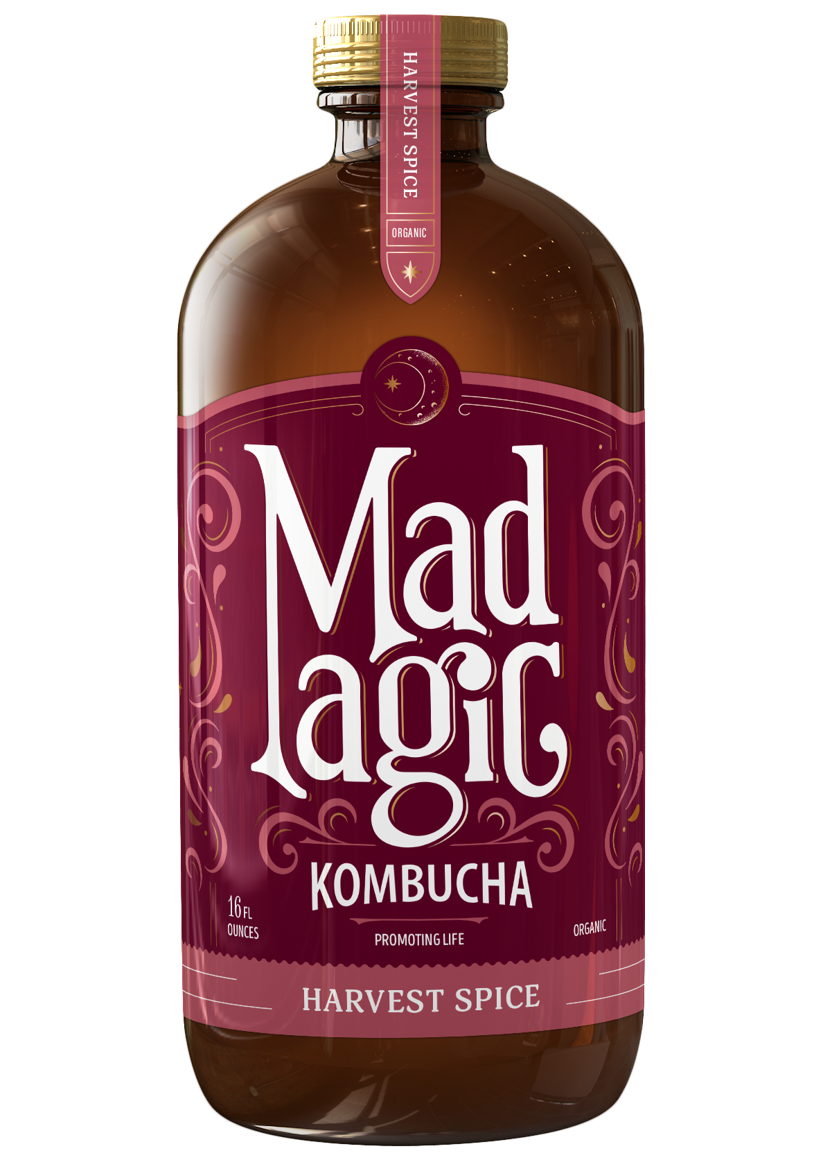 Mad Magic Harvest Spice Kombucha