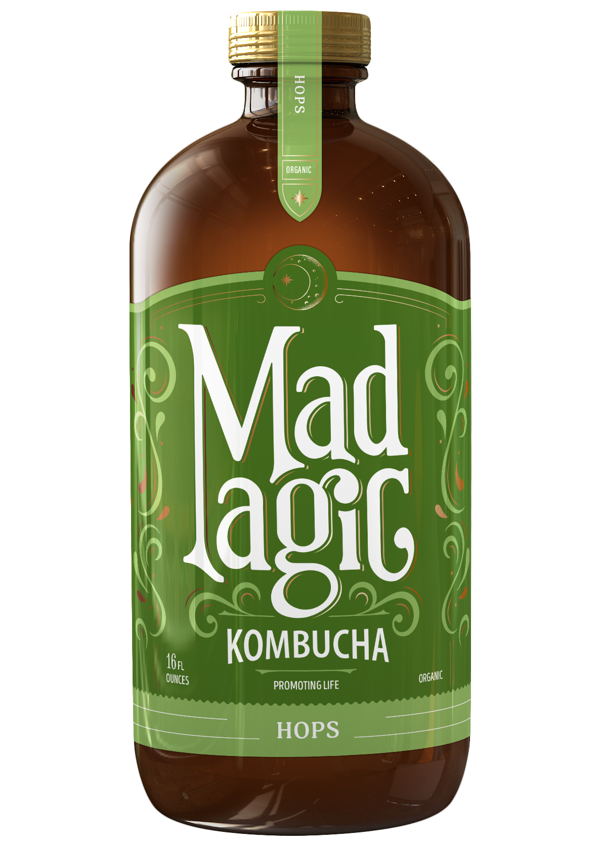 Mad Magic Hops Kombucha