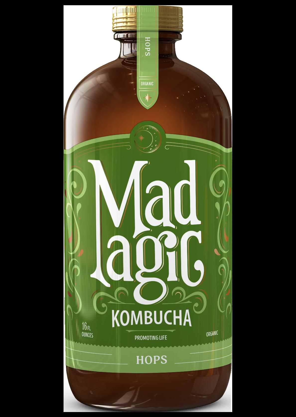 Mad Magic Hops Kombucha