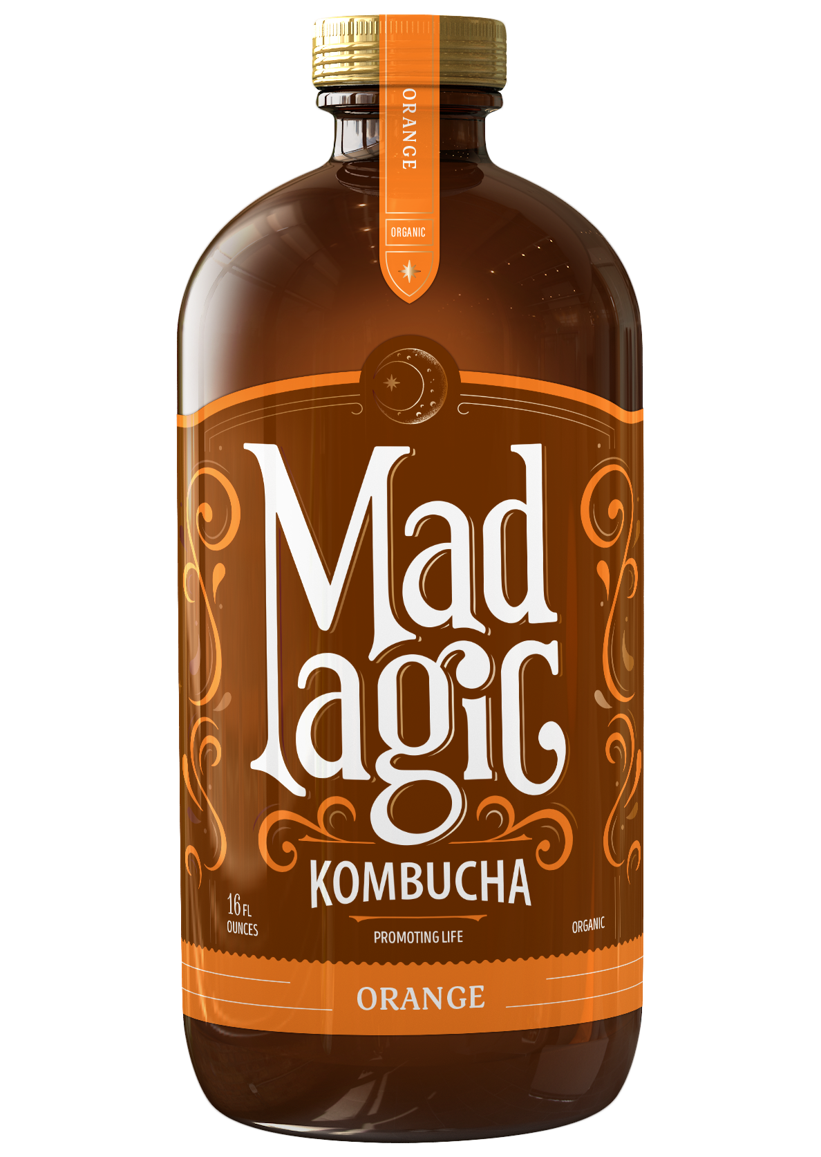 Mad Magic Orange Kombucha