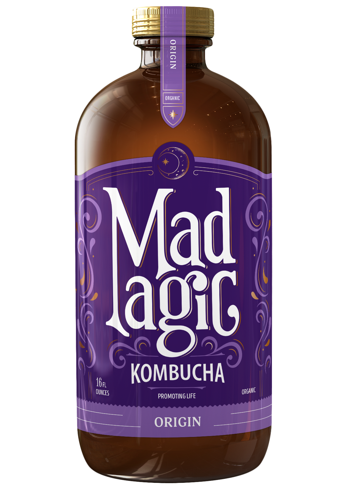 Mad Magic Origin Kombucha