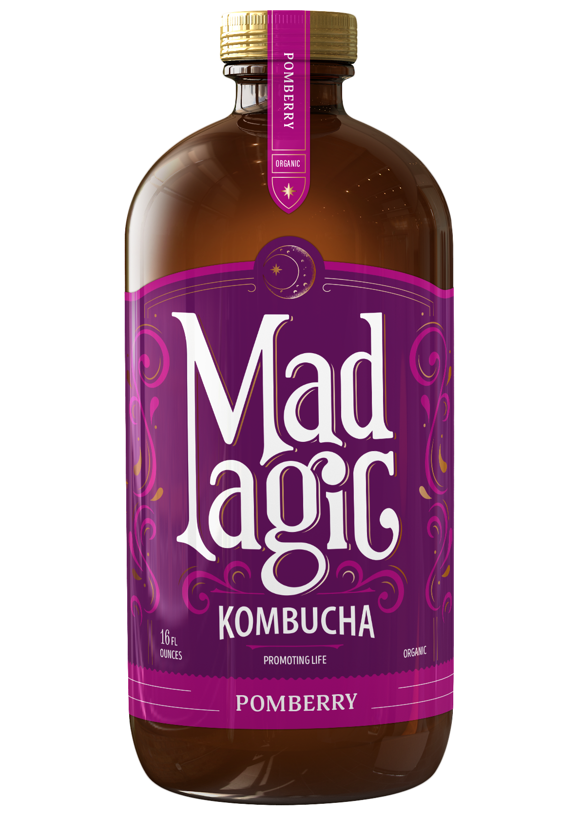 Mad Magic Pomberry Kombucha