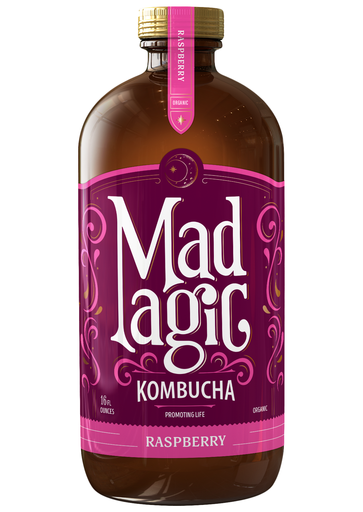 Mad Magic Raspberry Kombucha