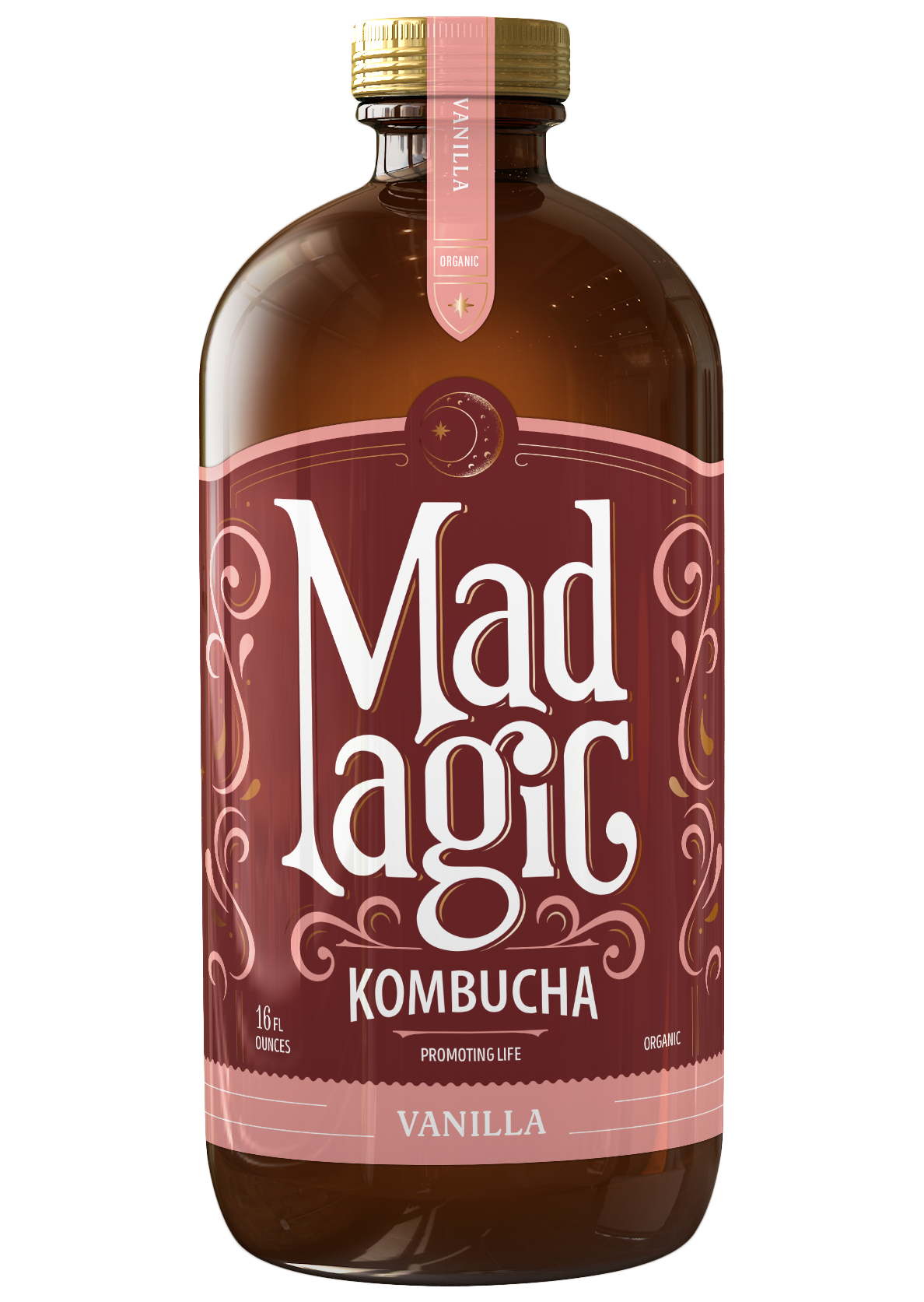 Mad Magic Vanilla Kombucha