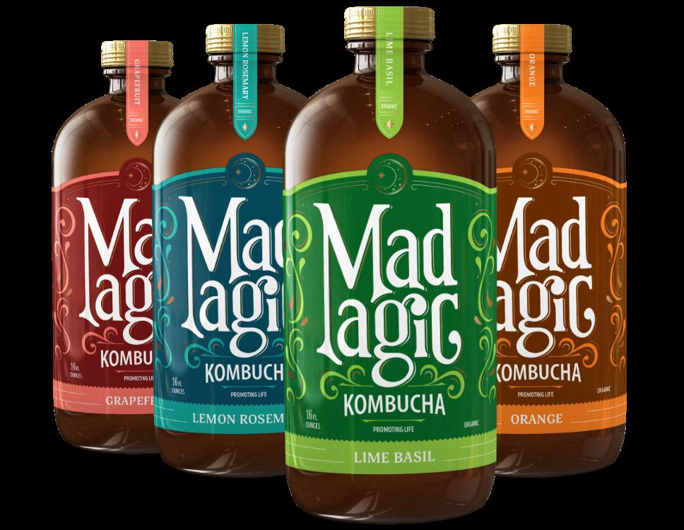 Mad Magic Citrus Pack Kombucha